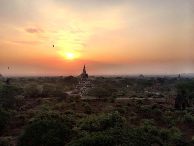 Rounding off Myanmar in Bagan