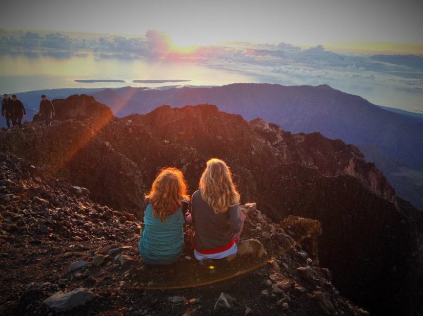 How my Rollins Teammates helped me Climb a Mountain in Indonesia(even if they don't knowit)